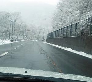 雪を見に行ってきました