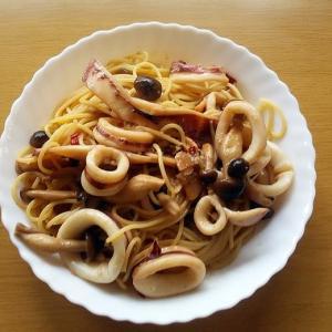 ヤリイカのスパゲティー
