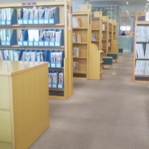 図書館来ました