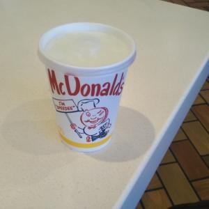 マクドナルド来ました