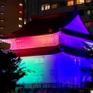 駿府城 光のナイト