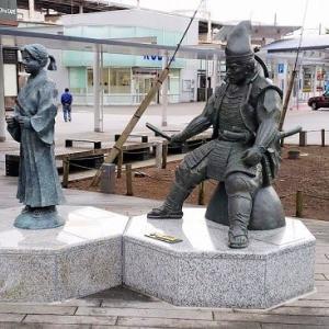 海道一の弓取り・今川義元公の像が設置されました