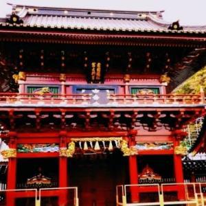 静岡浅間神社の楼門の修復