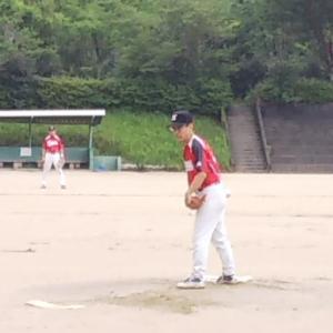 昨日の野球~!