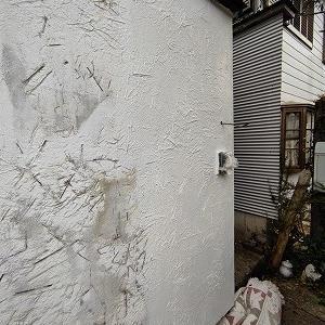 DIYで外壁の塗装塗り替えにチャレンジ。(2/2)