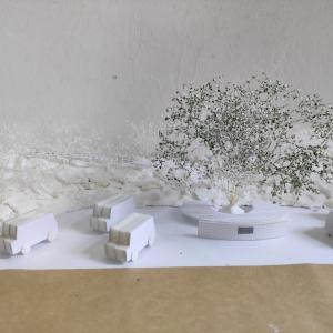 小塚山公園(北国分)の増設公園の隣接にキッチンカースペースの計画案