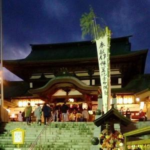 夜の椿神社