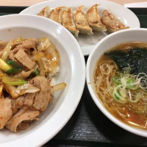 東秀 豚キムチ丼 中華