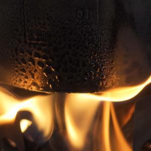 solo stoveで自宅ミニ焚火