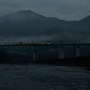 霧の新桂川橋 2020.1.24 大月市