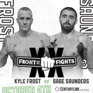 10.4、Front Street Fights 20 カイル・フロストVSゲージ・サンダース動画