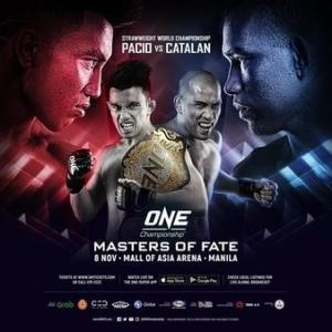 11.8、ONE Championship: Masters of Fate 動画