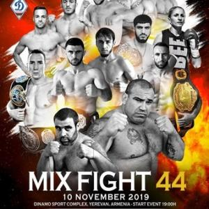11.10、Mix Fight Events 44  ホビク・ザカリヤンVSビクター・クトゥビゼ動画