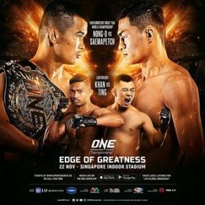11.22、ONE Championship: Edge of Greatness 動画