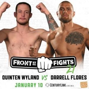 1.10、Front Street Fights 21 ダレル・フローレスVSクインテン・ワイランド動画