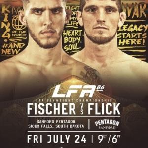7.24、LFA 86: Fischer vs. Flick 動画