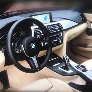 BMW(F系)の発見   ん、左右のアレが違う???