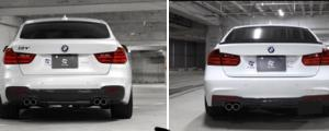 似ている似ている3シリーズと5シリーズの後ろ姿 〜BMWあるある