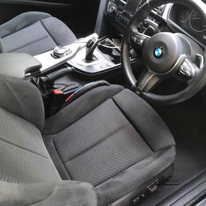 Mスポーツのシートの快適さ BMW