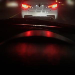 BMWのおしりを追いかける