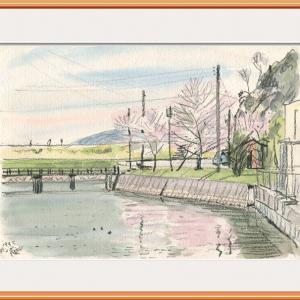 ポンポン山にて・春