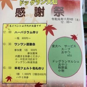 雨の土曜日(^^) 感謝祭参加者募集中