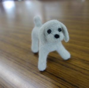 羊毛フェルトドッグ🐶