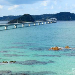 角島大橋と豊北の周辺をお散歩