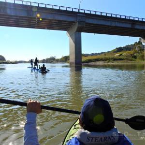 菊池川をカヌーで海まで川旅!