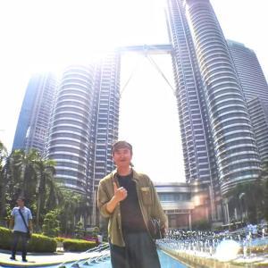 マレーシアの旅♪ペトロナスツインタワー♬マイレージ講師との偶然の出会い!!