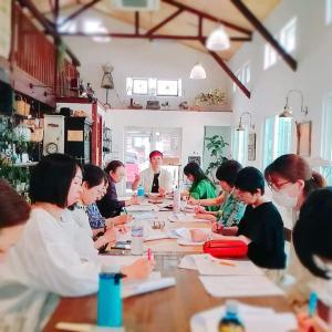 大盛況、水戸、東京、名古屋、エクセレント酵母水Ⓡ講座、認定講師養成講座もバッチリ♪