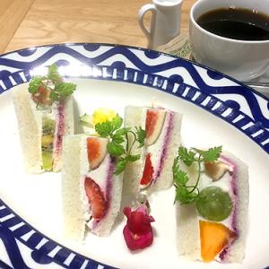 「HATAKE CAFE」日本橋高島屋S.C.新館店 旬のフルーツ使用「HATAKEのフルーツサンド」