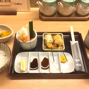 「新宿立吉 日比谷店」東京ミッドタウン日比谷 CP良し!「串揚げランチ」
