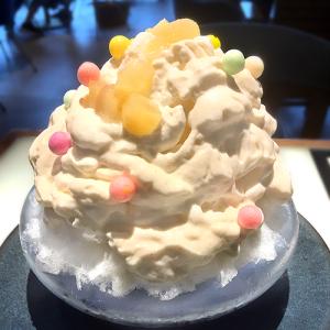 10月31日まで!東急プラザ銀座7F「ハンズエキスポカフェ」の「洋梨エスプーマのかき氷」