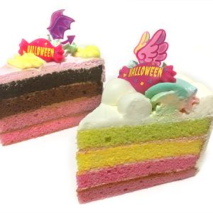 『銀座コージーコーナー』のゆめかわハロウィンスイーツ『天使のいたずらレインボー』&『小悪魔の甘いささやき』