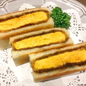 南砂町ショッピングセンターSUNAMO(スナモ)4F 浅草の洋食屋さん「ヨシカミ」の味を受け継ぐたまご料理店「グリルモア」の「たまごカツサンド」