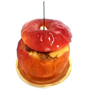 今年も販売スタート!冬季限定・紅玉まるまる1個使用の「FOUNDRY(ファウンドリー)」の「青森県産紅玉の丸ごと焼きりんご」