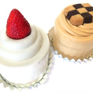 日本橋髙島屋S.C.「PARIYA NIHOMBASHI」の「ストロベリークラシックショートケーキ」「バナナキャラメルスカッチショートケーキ」