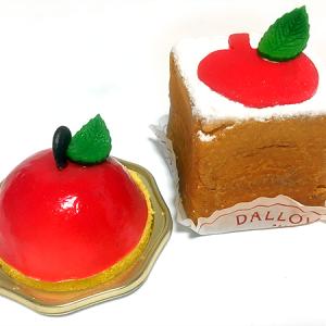 「ダロワイヨ」の季節限定・りんごモチーフのキュートなスイーツ「ラ ポンム」&「シューキュービック ポンム」