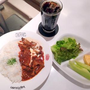 「果実園」東京店 東京駅改札外 フルーツ付きが嬉しい日替わり洋食「昔ながらのハヤシライス」
