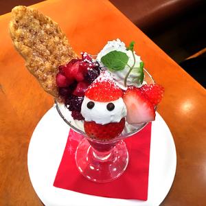 今年も登場!「銀座コージーコーナー」のカフェ・レストラン限定、クリスマス恒例「ベリー☆メリークリスマスパフェ」