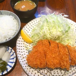 「富士㐂(フジキ)」人形町 「ロースとんかつ御膳」&「カキフライ定食」