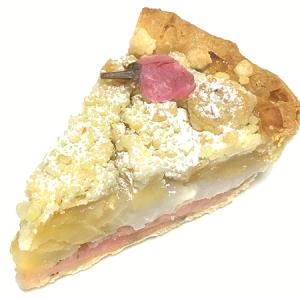 東急プラザ銀座B1F「GRANNY SMITH (グラニースミス)APPLE PIE & COFFEE」 季節限定「さくら餅アップルパイ」と定番「クラシック ラムレーズンアップルパイ」