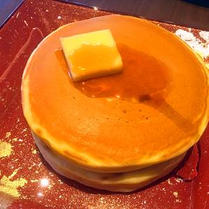 東急プラザ銀座6F 「丸福珈琲店 銀座喫茶室」 味も香りも懐かしい「ホットケーキ」
