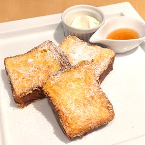 東京大丸5F「BURDIGALA CAFE(ブルディガラカフェ)」 フレンチトースト専用デニッシュで作る「フレンチトースト」