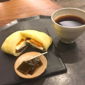 「銀座風月堂」 餡&バター&杏の幸せなる競演!「あんバターの蒸しカステラ包み」