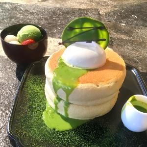 「椿サロン銀座」10月31日まで350円引き!新商品「北海道ほっとけーき抹茶」