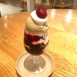 日本橋・コレド室町3「DO TABELKA (ドータベルカ)」 甘さ・酸味・苦みのバランスが格別!「コーヒーとアメリカンチェリーのパフェ」