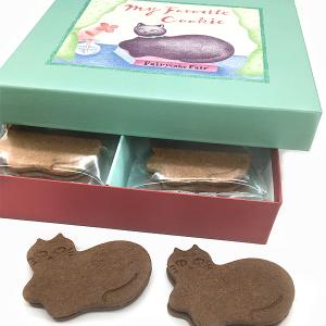 「Fairycake Fair(フェアリーケーキフェア)」東京駅グランスタ店 黒猫の「チョコミントサンドクッキー」