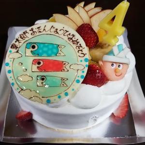 僕の誕生日ケーキ